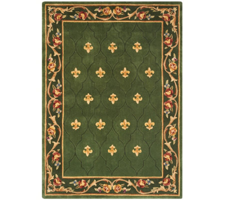 Royal Palace Special Edition 5'x7' Fleur de Lis Wool Rug