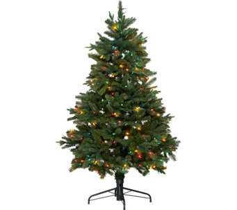 Hallmark 5' Heritage Mixed Tip Tree with Quick Set Technology - H208793