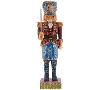 Jim Shore Heartwood Creek Victorian Nutcracker Figurine - H210093