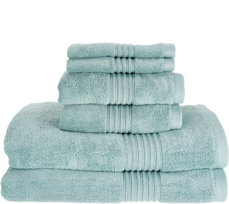Northern Nights 100% Supima Cotton 6 Piece Luxury Towel Set