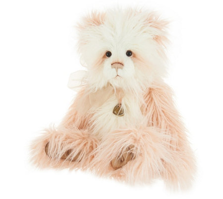 "Charlie Bears Collectible Karen 22"" Long Haired Plush Bear"