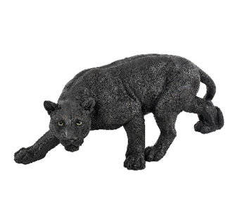 Design Toscano Shadow Predator Black Panther Garden Sculpture - H282693