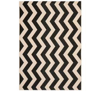 "Safavieh 5'3"" x 7'7"" Vertical Zigzag Indoor/Outdoor Rug - H283093"