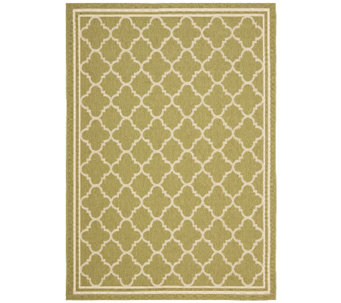 "Safavieh Courtyard Classic Mosaic Indoor/Outdoor Rug 5'3""x7'7 - H286593"