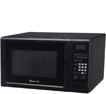 magic chef 11cf 1000w microwave with digital touch black h287093