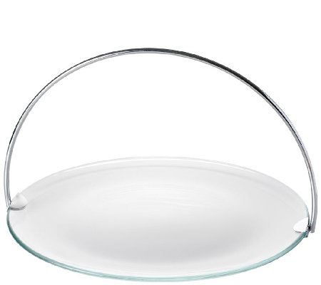 Luigi Bormioli Platter with Removable Handle