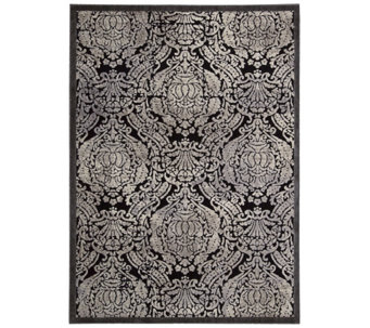 "Graphic Illusions Geometric 5'3"" x 7'5"" Rug byNourison - H288293"