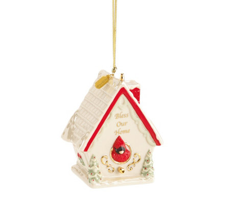 Lenox 2016 Bless Our Home Porcelain Ornament