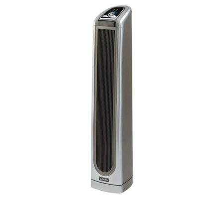 "Lasko Products 34"" Ceramic Tower Heater With Remote and Timer"