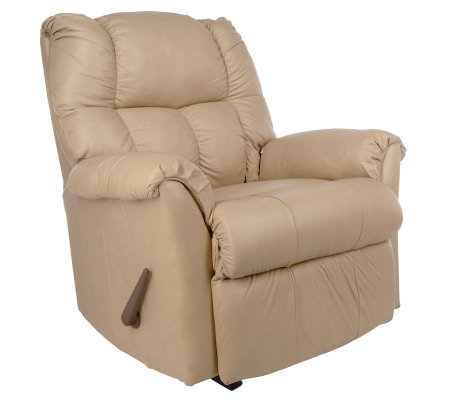 Franklin All Leather Chaise Design Rocker/Recliner - Page ...