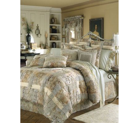 Croscill Cassarina California King Comforter Set QVCcom
