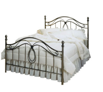Hillsdale Furniture Milano King Bed - AntiquedPewter Finish - H156694