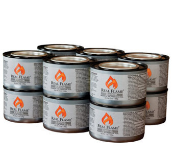 12 Cans of Junior Gel Fuel by Real Flame - 7-oz - H177094