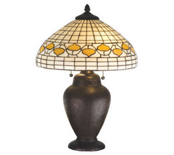 "Tiffany Style 23-1/2""H Acorn Dome Table Lamp - H181294"