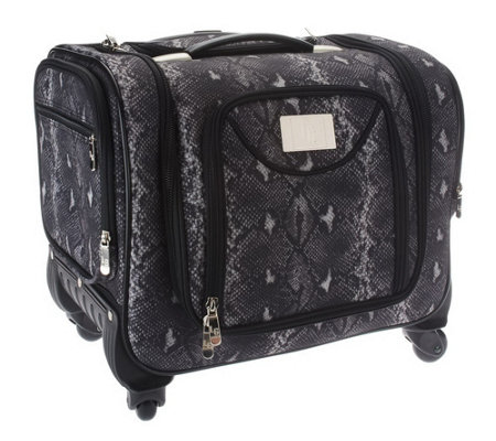 """As Is"" Weekender Bag with Snap-In Toiletry Case by Lori Greiner"