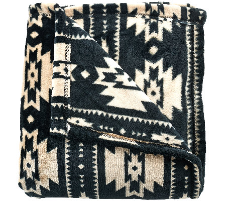 "Berkshire Blanket 55""x70"" Velvet Soft Southwest Throw"