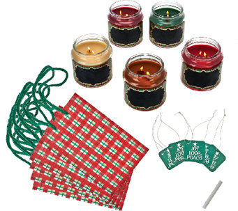 Set of 5 Holiday Home Candle Collection by Valerie - H206594