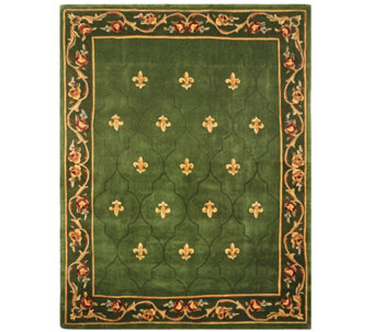 Royal Palace Special Edition 7'x9' Fleur de Lis Wool Rug - H207294