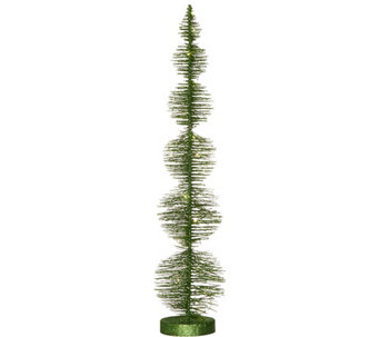 3-foot Bottlebrush Tree with Microlights by Valerie - H209794