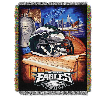 "NFL Woven Tapestry Home Field Advantage 48"" x 60"""