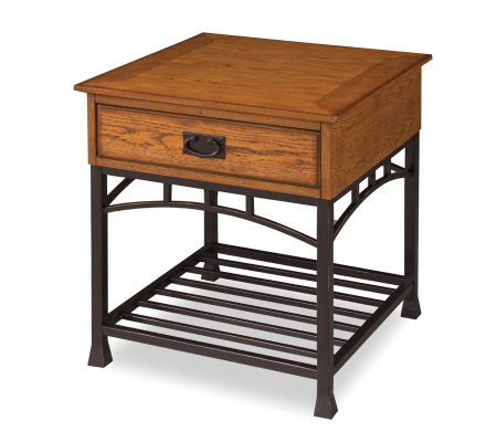 Home Styles Modern Craftsman End Table
