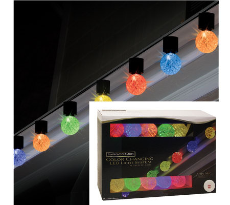 10-Count LED Globe Symphony of Lights