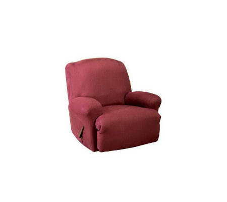 Sure Fit Stretch Faux Suede Recliner Slipcover