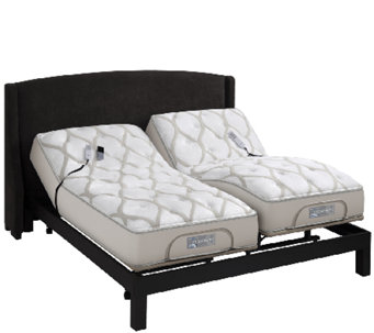 Sleep Number QSeries 6.1 SK Mattress Set w/ADAT & Adj Base - H205895