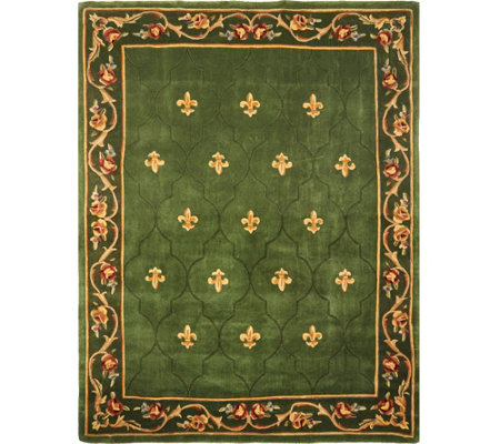 "Royal Palace Special Edition 8'x10'6"" Fleur de Lis Wool Rug"