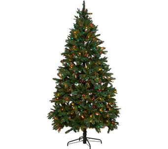 Hallmark 7.5' Heritage Mixed Tip Tree with Quick Set Technology - H208795