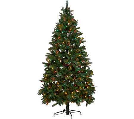 Hallmark 7.5' Heritage Mixed Tip Tree with Quick Set Technology