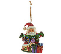 Jim Shore Heartwood Creek Exclusive Dated 2016 Santa Ornament - H209195