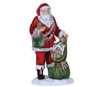 Limited Edition Sweets Santa Figurine by Pipka - H286795
