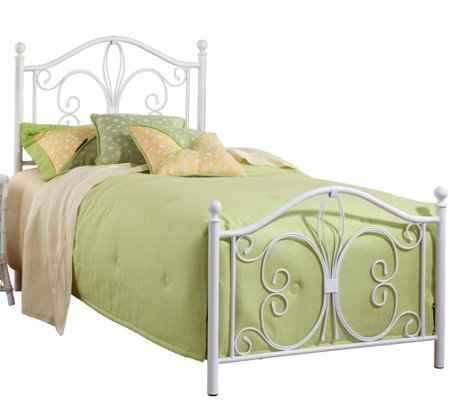 Hillsdale Furniture's Ruby Bed Set - Twin - w/Rails
