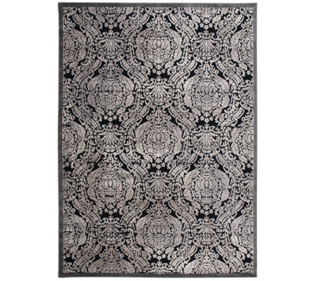 "Graphic Illusions Geometric 7'9"" x 10'10"" Rug by Nourison"