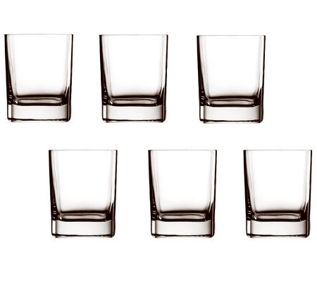 Luigi Bormioli 12.25-oz Top Class DOF Glasses -Set of 6