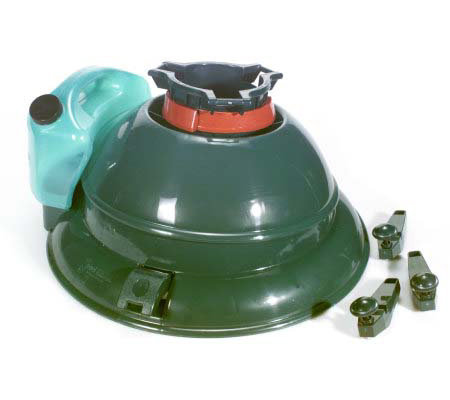 swivel tree stand w removable water reservoir qvc