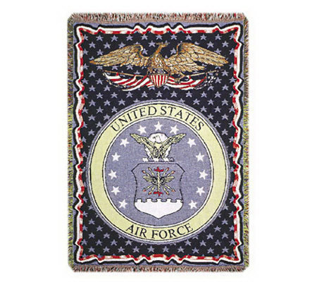 Military Cotton Throw by Simply Home