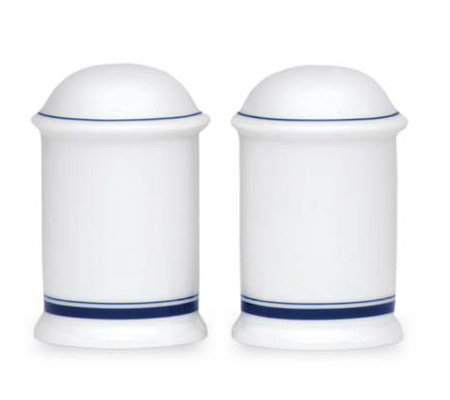 Dansk Christianshavn Blue Salt & Pepper Shakers