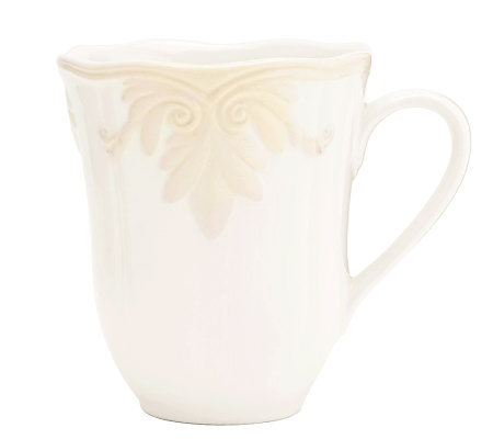 Lenox butler39s pantry gourmet mug page 1 qvccom for Lenox butlers pantry gourmet