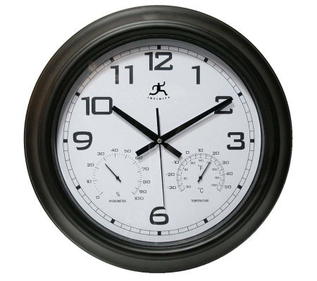 "Seer 18"" Indoor/Outdoor Wall Clock"