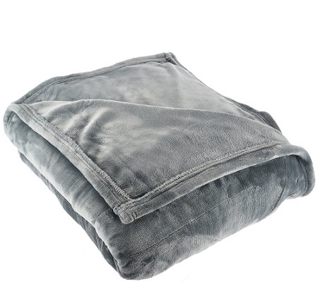 Sunbeam Velvet Plush Queen Heated Blanket