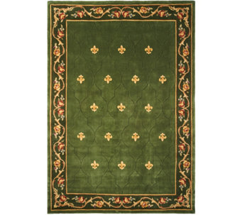 "Royal Palace Special Edition 8'9""x12'9"" Fleur de Lis Wool Rug - H207296"