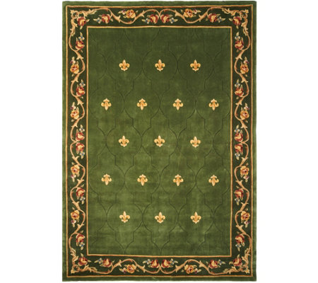 "Royal Palace Special Edition 8'9""x12'9"" Fleur de Lis Wool Rug"