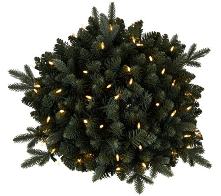 "Bethlehem Lights Blue Spruce 24"" Lit Urn Filler"