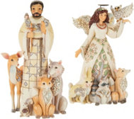 Jim Shore Choice of Woodland Collection Figurines