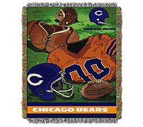 "NFL Vintage-Style Tapestry Throw 48"" x 60"" - H290096"