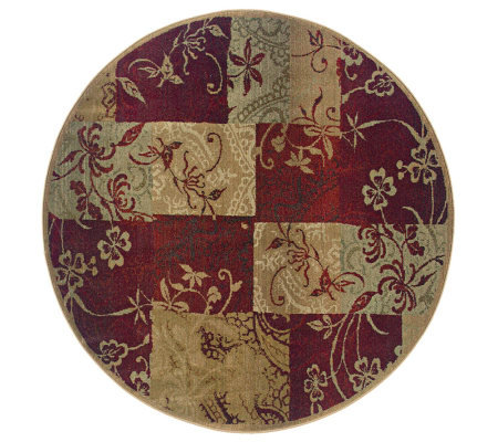 Sphinx Lyla 6' Round Rug by Oriental Weavers