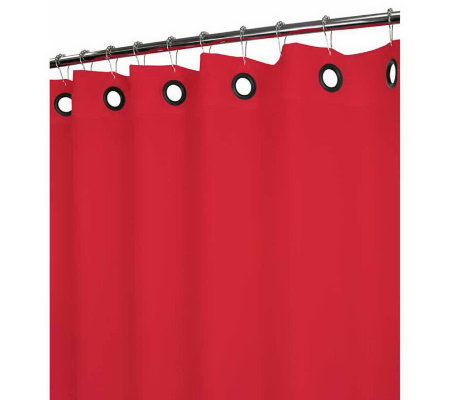 Watershed 2-in-1 Dorset Solid Grommet 72x72 Shower Curtain