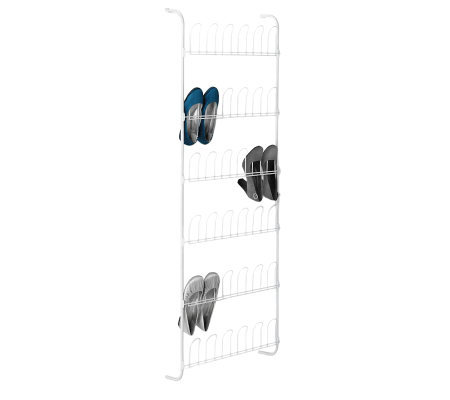Honey-Can-Do Over-the-Door Shoe Rack
